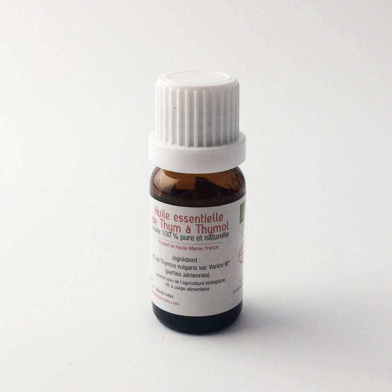 Huile essentielle de thym à thymol bio